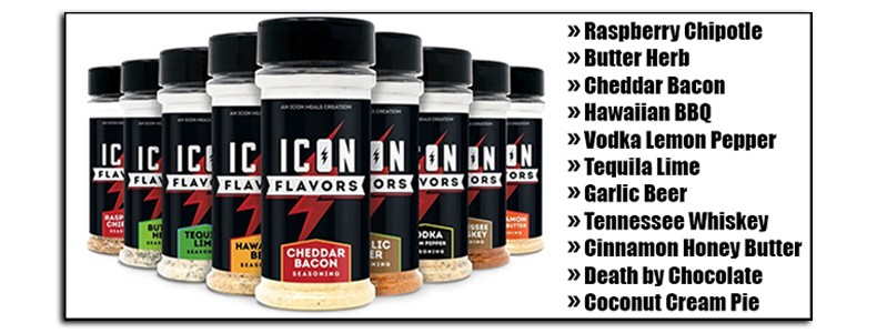 Icon Meals new Icon Flavors