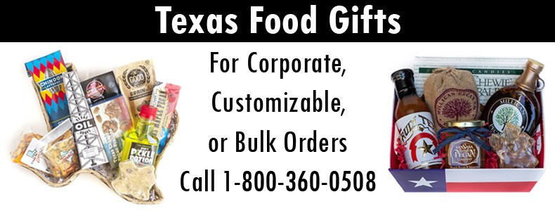 Texas Food Gift Baskets - Corporate, Customizable, Bulk