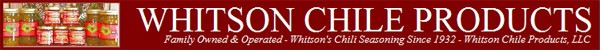 Whitson Chile Products