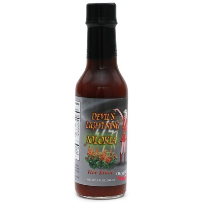 Devil's Lightning Jolokia Hot Sauce