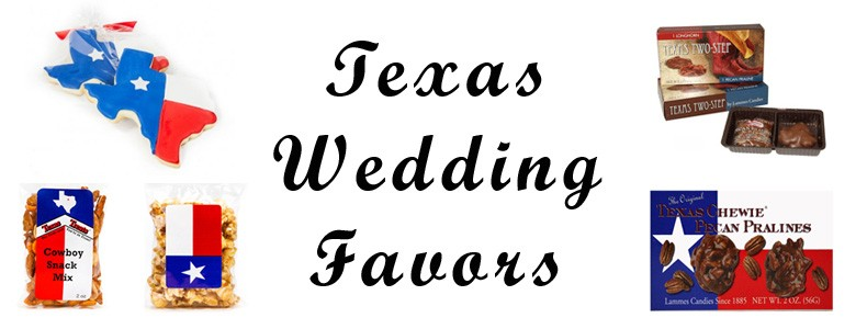 Texas Wedding Favors