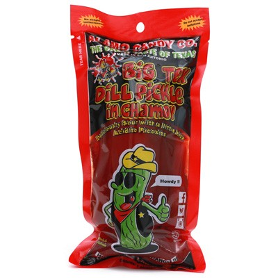 Big Tex Dill Pickle in Chamoy