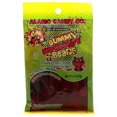 Alamo Candy Co. Gummy and Bloody Bears