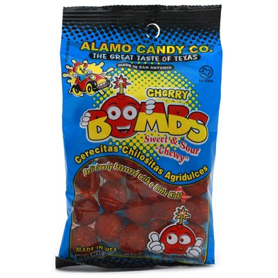 Alamo Candy Co. Sweet & Sour Cherry Bombs
