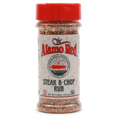 Alamo Red Steak & Chop Rub