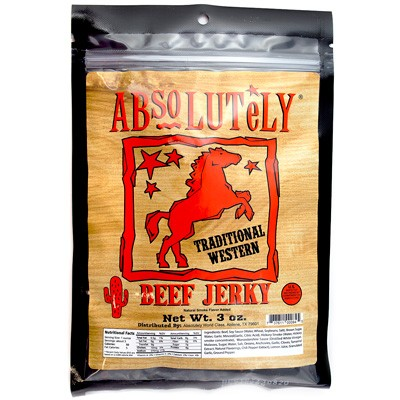 Absolutely Traditional Western Beef Jerky