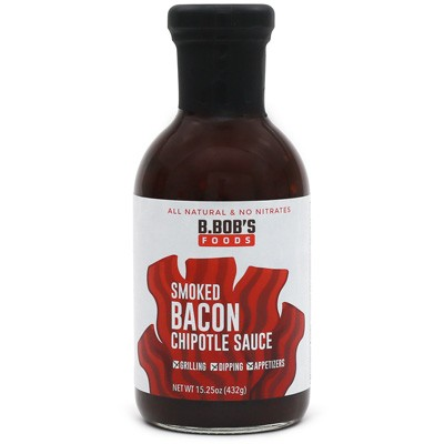 Bronco Bob's Smoked Bacon Chipotle Sauce