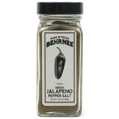 Behrnes' Green Jalapeño Pepper Salt