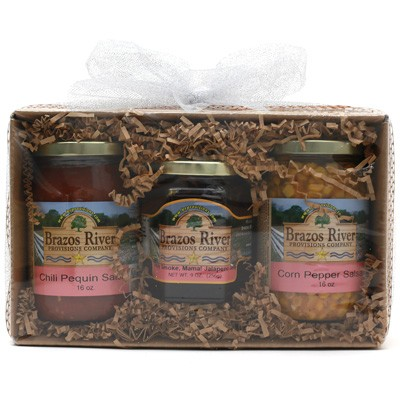 Brazos River Provision Texas Salsa & Jelly Gift Pack