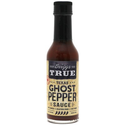Briggs True Texas Ghost Pepper Sauce