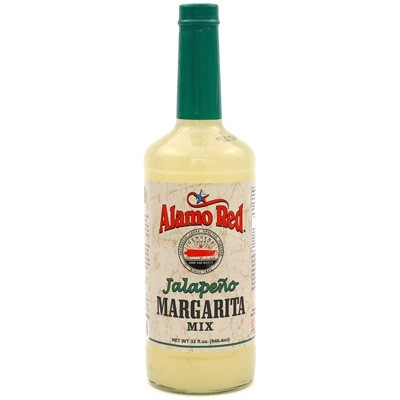 Alamo Red Jalapeño Margarita Mix