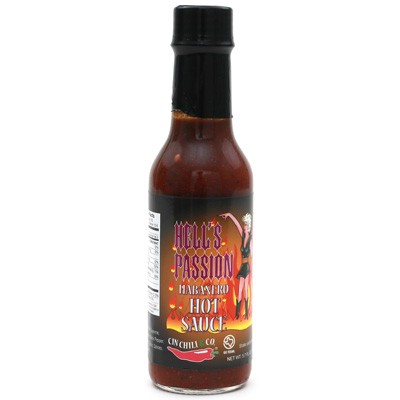 Hell's Passion Hot Sauce