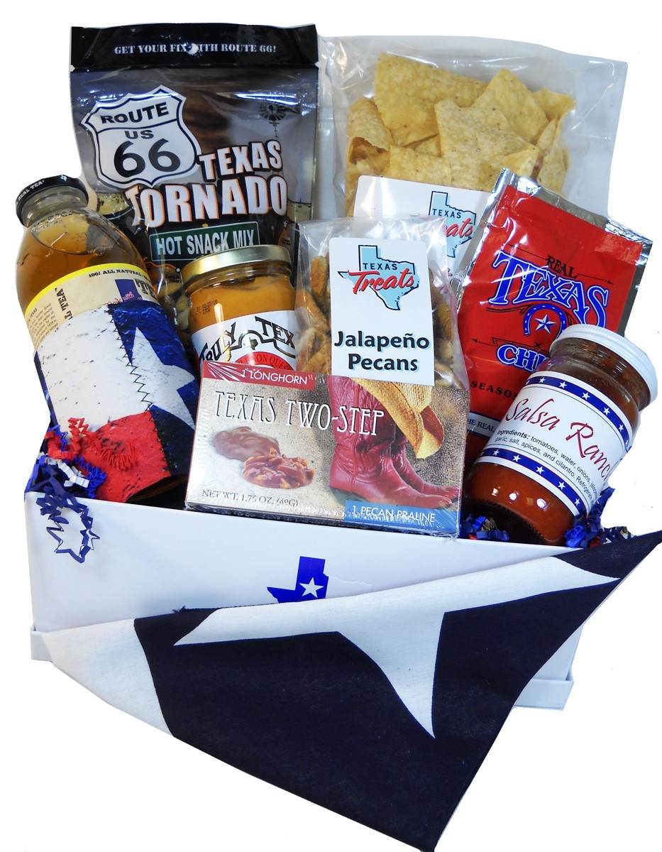 Texan in Exile Survival Gift Box