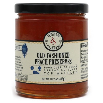 Fischer & Wieser Old-Fashioned Peach Preserves