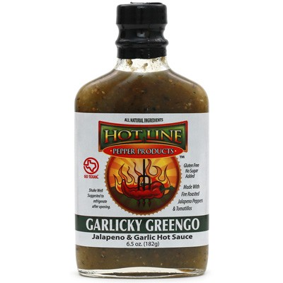 Garlicky Greengo Hot Sauce