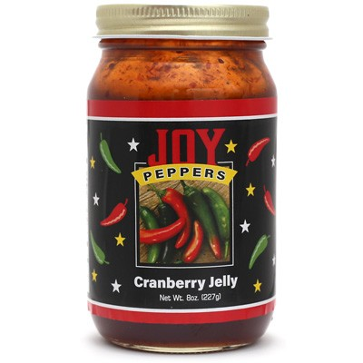 Joy Peppers Cranberry Jalapeño Jelly
