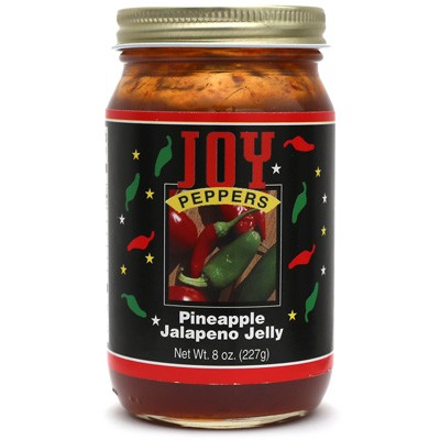 Joy Peppers Pineapple Jalapeño Jelly