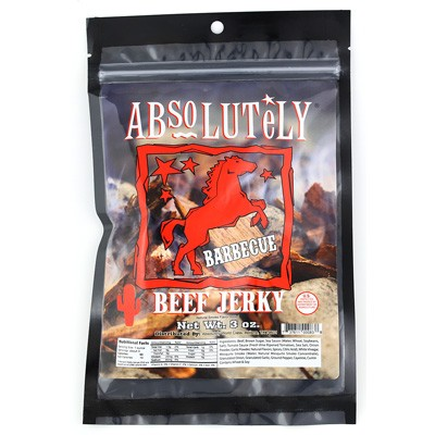 Absolutely Barbecue Beef Jerky
