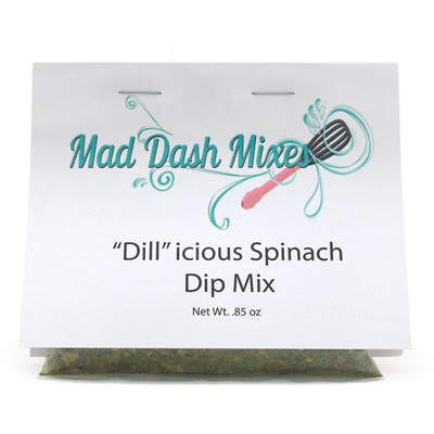 "Mad Dash Mixes ""Dill""icious Spinach Dip Mix"