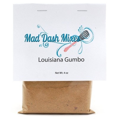 Mad Dash Mixes Louisiana Gumbo