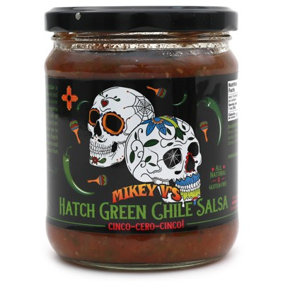 Mikey V's Hatch Green Chile Salsa