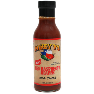 Mikey V's Red Raspberry Reaper BBQ Sauce