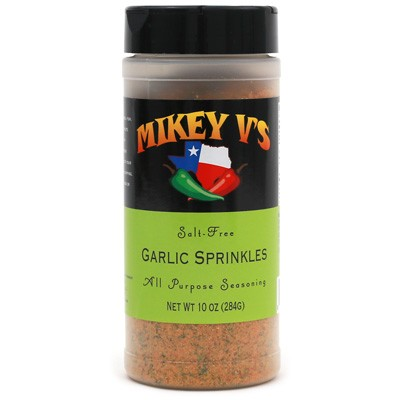 Mikey V's Salt-Free Garlic Sprinkles All Purpose Seasoning