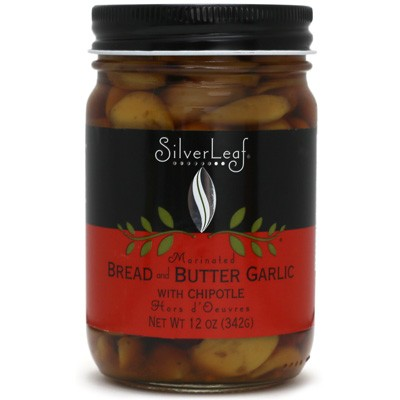 SilverLeaf Bread & Butter Garlic with Chipotles