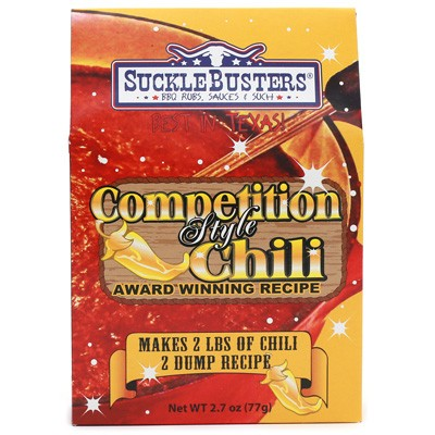 SuckleBusters Competition Style Chili Kit