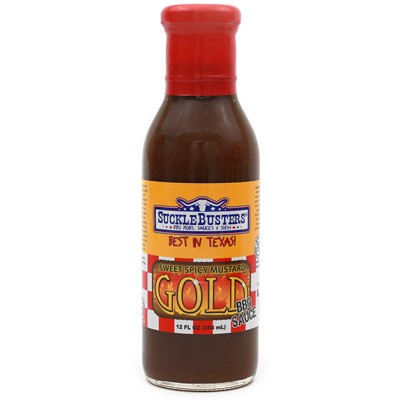 SuckleBusters Mustard Gold BBQ Sauce