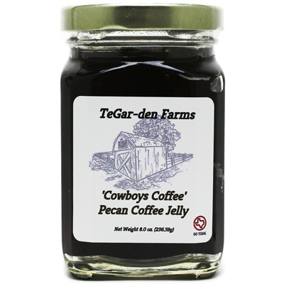 TeGar-den Farms Pecan Coffee Jelly