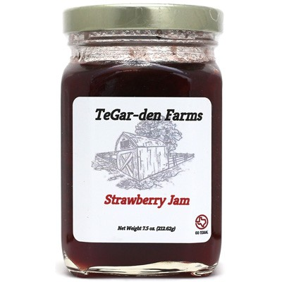 TeGar-den Farms Strawberry Jam