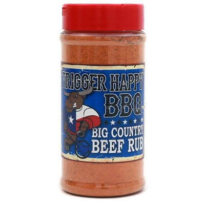 Trigger Happy Big Country Beef Rub