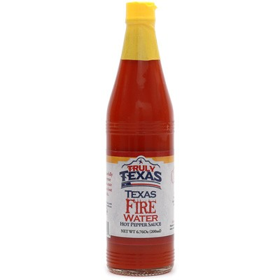Truly Texas Texas Fire Water Hot Pepper Sauce