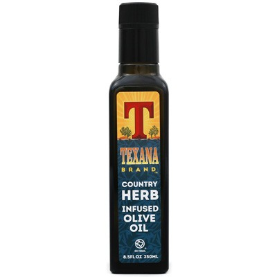 Texana Brand Country Herb Infused Olive Oil