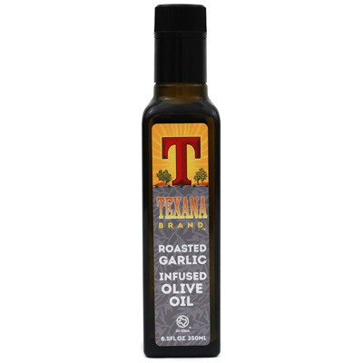 Texana Brand Roasted Garlic Infused Olive Oil