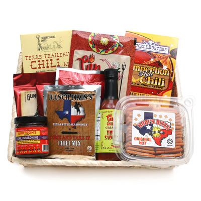 Texas Chili Cook-off Gift Basket