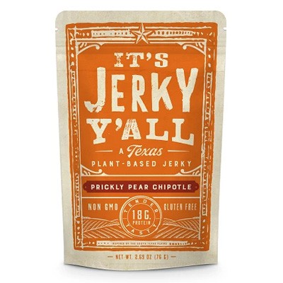 It's Jerky Y'all Prickly Pear Chipotle Vegan Jerky