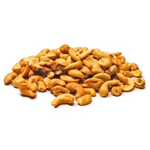 Texas Star Roasted Sea Salted Cashews - 25lbs