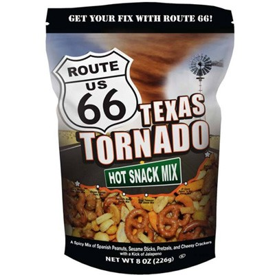 Route 66 Texas Tornado Hot Snack Mix