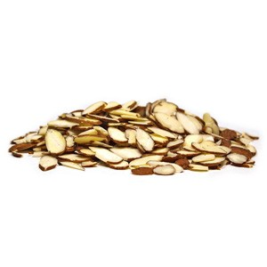 Texas Star Sliced Natural Almonds - 25lbs