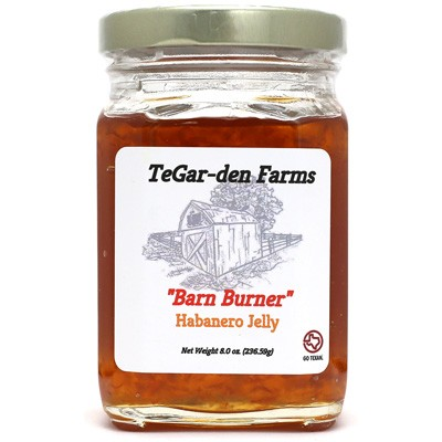 TeGar-Den Farms Barn Burner Habanero Jelly