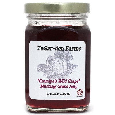 TeGar-den Farms Mustang Grape Jelly